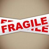 Fragile tape vector illustration
