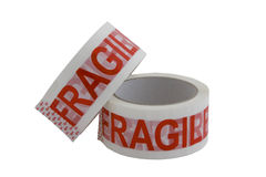 Fragile tape Royalty Free Stock Photography