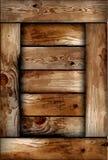 Fragile wooden box texture. Vector Stock Photography