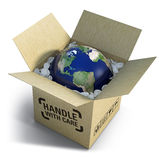 Fragile world Royalty Free Stock Photo