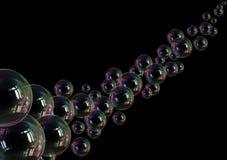 Fragilidad de la ligereza de la burbuja de jabón libre illustration