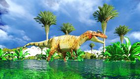 fragilis allosaurus Fotografia Royalty Free