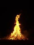 Fragmence del fuego Foto de archivo libre de regalías