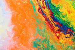 Fragment of abstract artwork Stock Photography