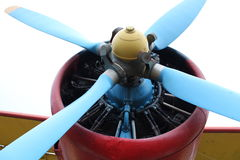 Fragment of airplane Stock Images