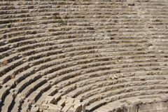 Fragment of ancient amphitheater Stock Photos