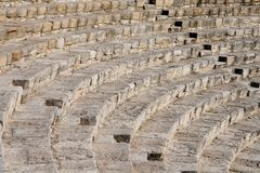 Fragment of ancient amphitheater Stock Photo