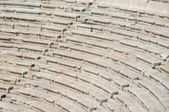 Fragment of the ancient amphitheater, Plovdiv, Bulgaria Stock Images