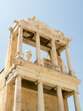 Fragment of the ancient amphitheater, Plovdiv, Bulgaria Royalty Free Stock Photo