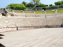 Fragment of the ancient amphitheater, Plovdiv, Bulgaria Stock Photos