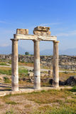 Fragment of ancient building in Turkey Stock Photos