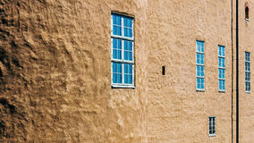 Fragment of the ancient castle in Kalmar Royalty Free Stock Image