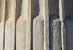 Fragment of an ancient column Royalty Free Stock Image