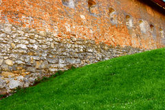 Fragment of ancient defense facilities Royalty Free Stock Photography