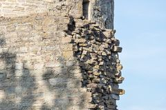 Fragment of ancient fortress Stock Image