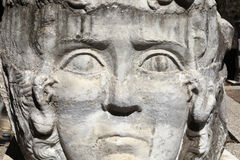Fragment of Ancient Medusa Royalty Free Stock Photo
