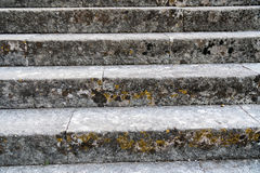 Fragment of the ancient stairs Royalty Free Stock Image