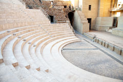 The fragment of ancient theatre Royalty Free Stock Images