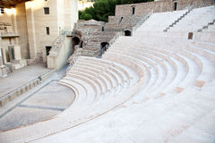 The fragment of ancient theatre Stock Photo