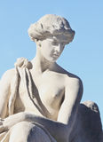 Fragment of antique statue of goddess of love Aphrodite (Venus) Royalty Free Stock Photography