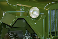 Fragment of an Army Vehicle Stock Photography