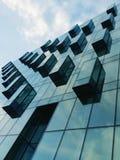 Fragment av byggnad Arkivfoto