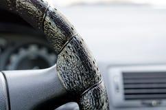 Fragment av den framåt panelen av bilen Royaltyfri Fotografi