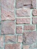 Fragment av den gamla väggen arkivfoto