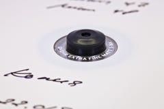 Fragment av en cd-skiva Fotografering för Bildbyråer