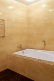 Fragment av ett lyxigt badrum Fotografering för Bildbyråer