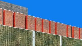 Fragment av facaden Arkivbilder