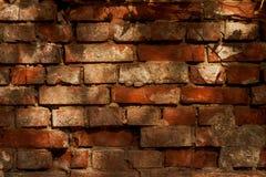 Fragment av gammal murbrukväggbakgrund Royaltyfri Foto
