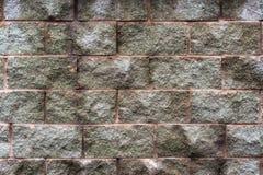 Fragment av grungestenväggen Arkivfoton