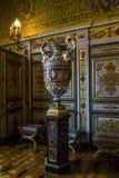 Fragment av inre i Fontainebleau royaltyfri fotografi