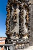 Fragment av kapitelhusgarneringen i kloster av Chris Royaltyfri Fotografi