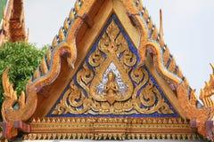 Fragment av konungslotten i Bangkok Royaltyfria Bilder