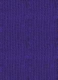 Fragment av ljusa lilor stuckit tyg seamless modell koagulering Arkivbilder