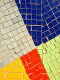fragment av mosaiken av sovjetiska tider på väggen i Ryssland Fotografering för Bildbyråer