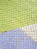 fragment av mosaiken av sovjetiska tider på väggen i Ryssland Arkivfoton