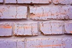 Fragment av murverktegelstenväggen royaltyfria bilder