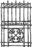 Fragment av staketet Royaltyfri Foto