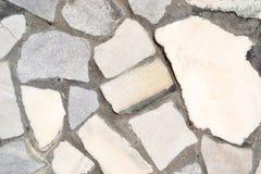 fragment av stenvägen Fotografering för Bildbyråer