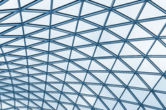 Fragment background futuristic roof of modern building Royalty Free Stock Images