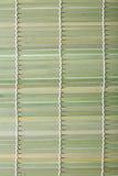 Fragment of bamboo mat Stock Image