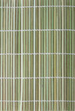 Fragment of bamboo mat Royalty Free Stock Photography