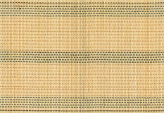 A fragment of bamboo mats Royalty Free Stock Photos