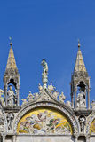 Fragment. Basilica of Saint Mark, Venice, Italy Royalty Free Stock Image