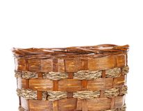 Fragment of basket. Close up. Stock Image
