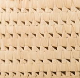 Fragment of basketry made of palm leaves, detail, background, pa Stock Image