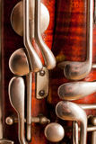 Fragment bassoon Royalty Free Stock Photos